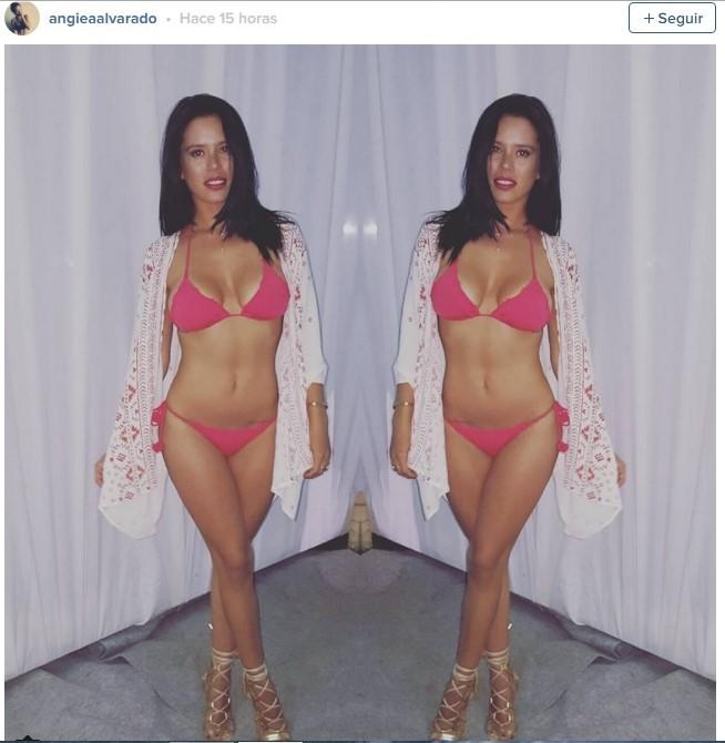 angie alvarado bikini