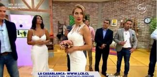 carola vestida de novia
