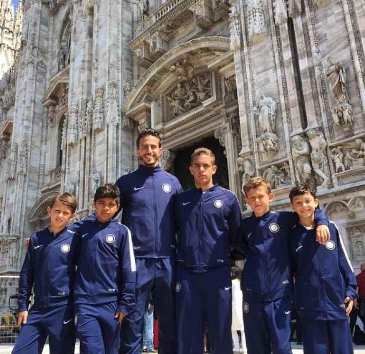 Fotos: Así se ve Marco Ferri como entrenador de fútbol - TeCache.cl