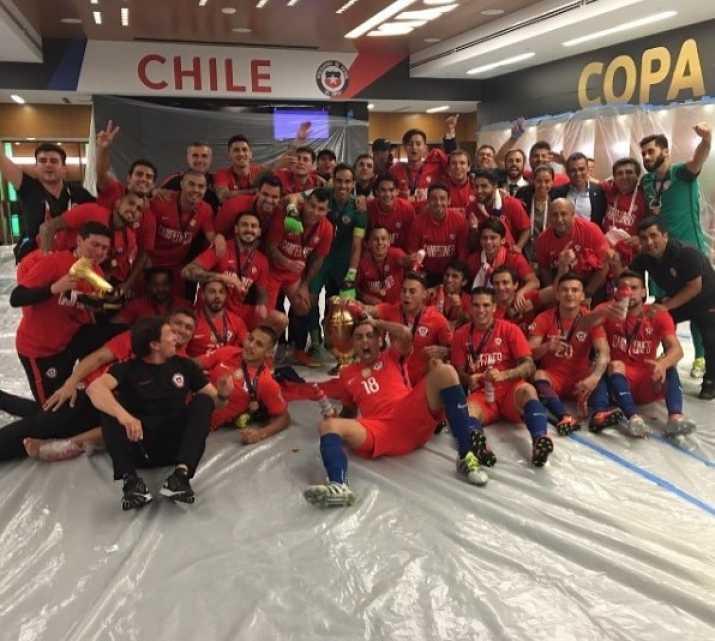 chile campeon centenario