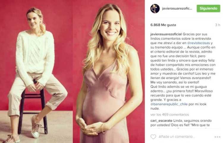 javiera suarez embarazada