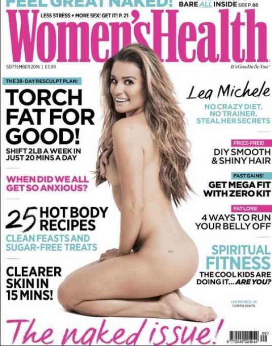 lea michel revista