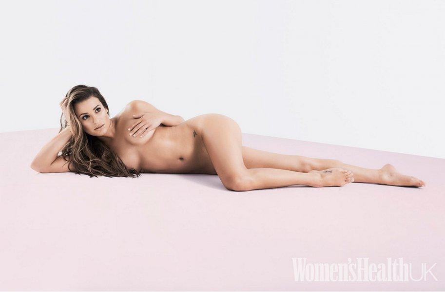 lea michele desnuda