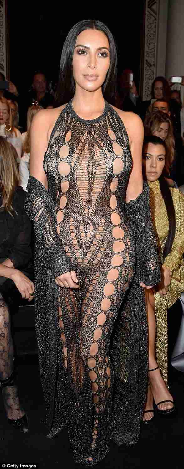 kim kardashian transparencia