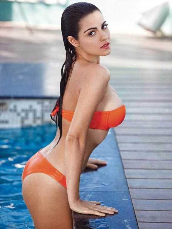 maite perroni bikini