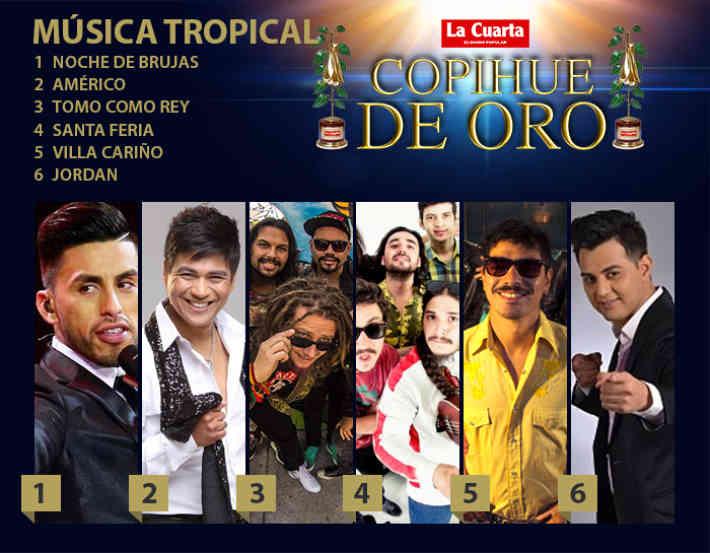 cantante tropical