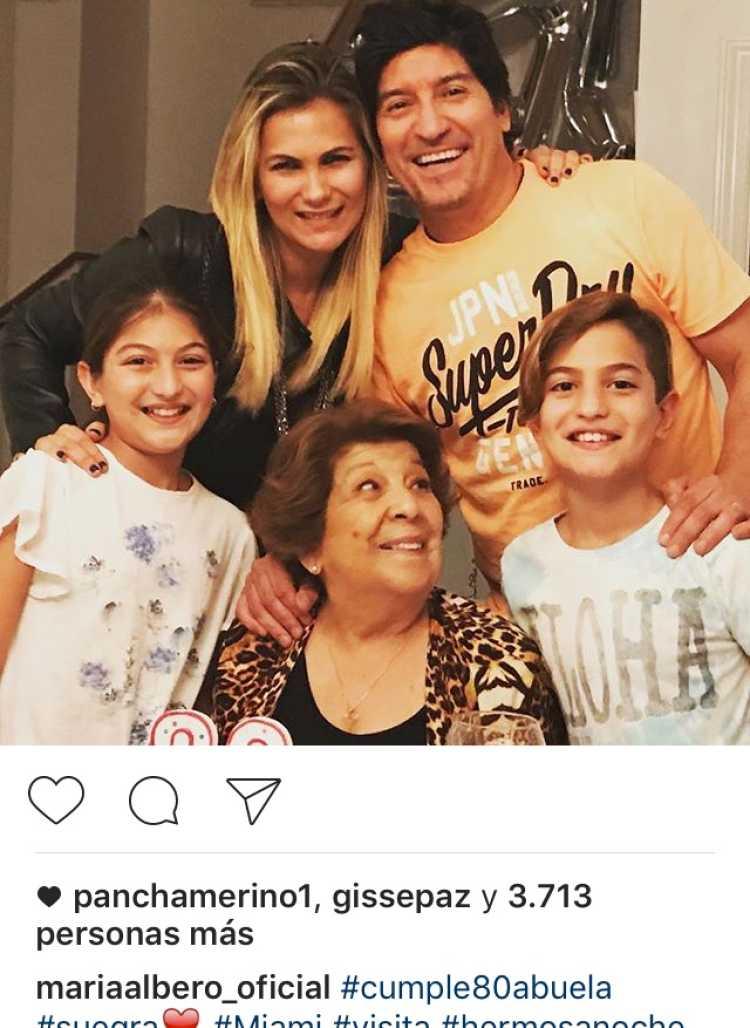 familia ivan zamorano
