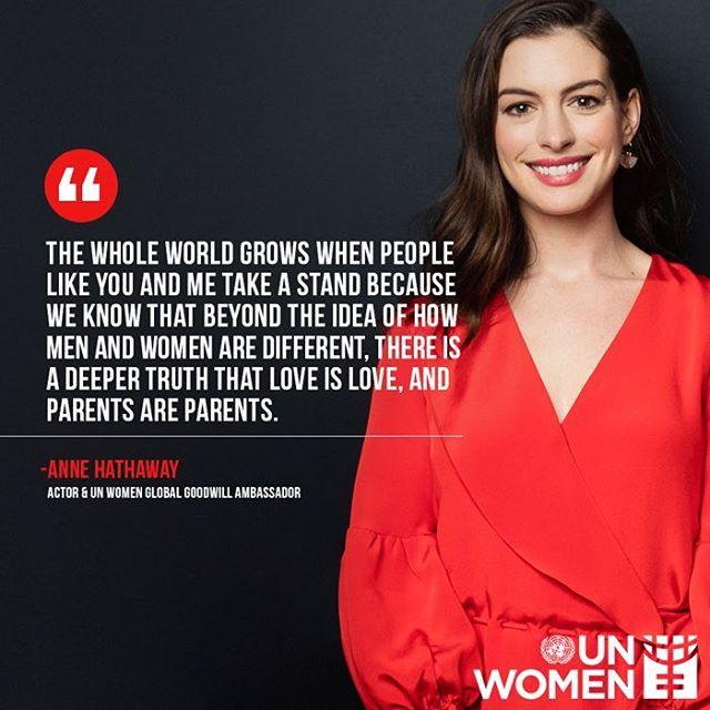 Anne Hathaway Hijo: Anne Hathaway Comparte Foto De Su Hijo Tras Discurso Por