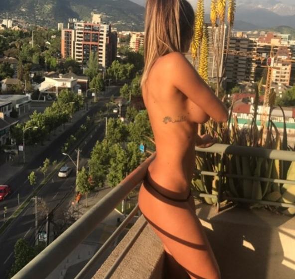 Fran Undurraga Muestra Su Nuevo Tatuaje Con Sugerente Desnudo