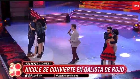 Chantal Gayoso abandonó el escenario sin despedirse tras ser eliminada de