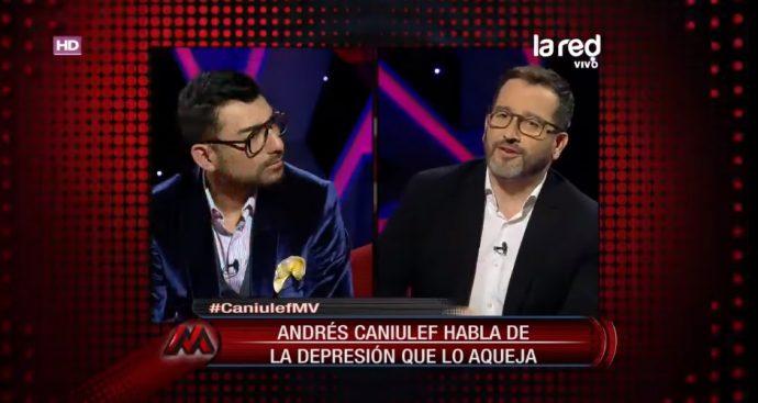 Andres Caniulef fue internado en clínica psiquiátrica