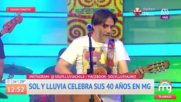 Sin Paty Maldonado en estudio: Sol y Lluvia se presentó en Mucho Gusto y habló de Camilo Catrillanca