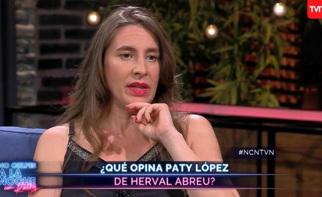 Paty López por Herval Abreu: No es un crimen ser un acosador