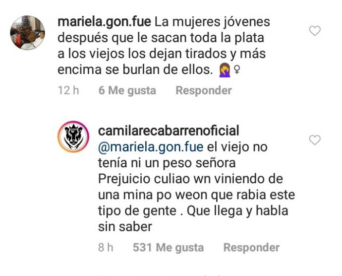 Camila Recabarren sorprende a sus seguidores con importante noticia