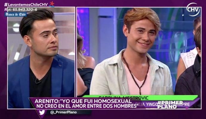La polémica entrevista de Arenito: