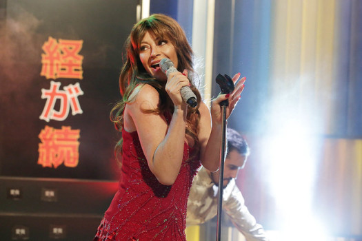 Marcela Vacarezza sorprende imitando a Thalía en