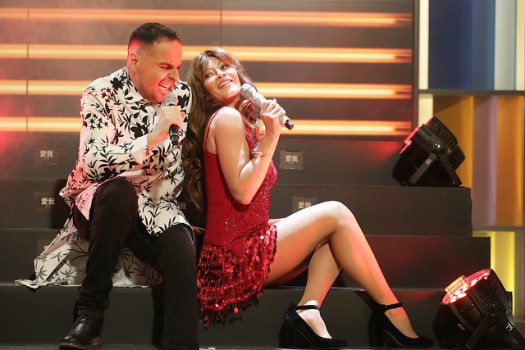 Marcela Vacarezza sorprende con jugado show en Muy Buenos Días — Como Thalía