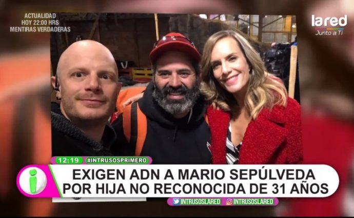 Piden examen de ADN a Mario Sepúlveda por supuesta hija de 31 años