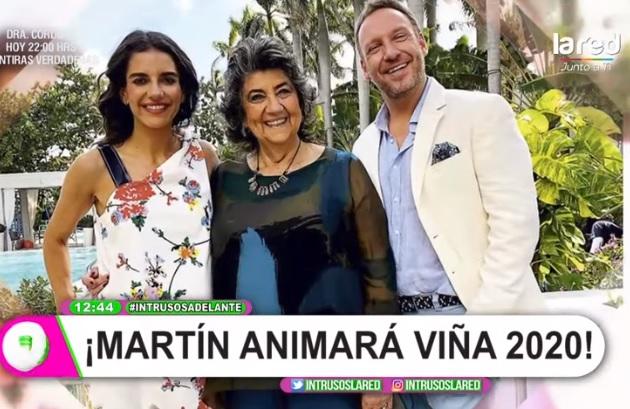 Martín Cárcamo confirma que será el animador del Festival de Viña 2020