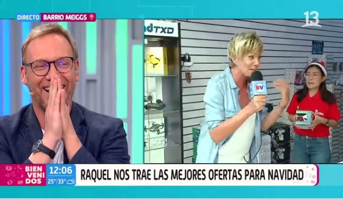 Raquel Argandoña se espantó por el chilenismo que le dijo trabajadora migrante