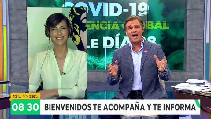 Las bromas que dejó la virtual presencia de Tonka Tomicic en Bienvenidos